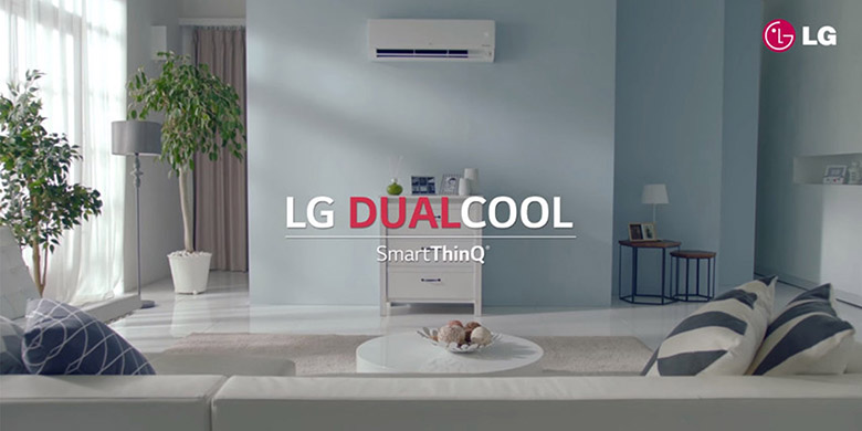 Thiết kế 2 chiều thông minh - Điều hòa LG 2 chiều Inverter 12000BTU B13APF